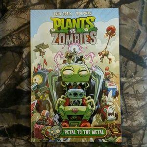 2 Plants vs. Zombies books.